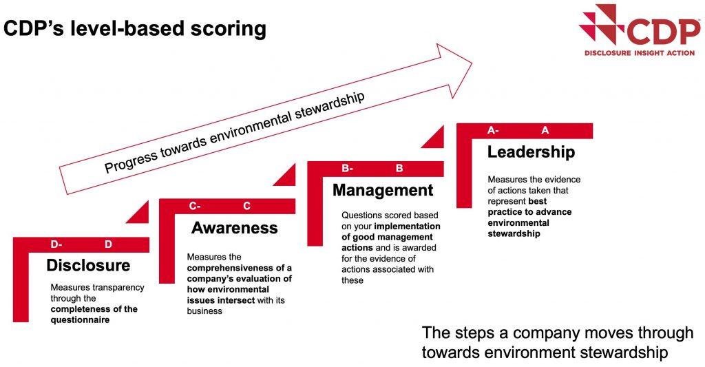 CDP ESG Rating Ansatz