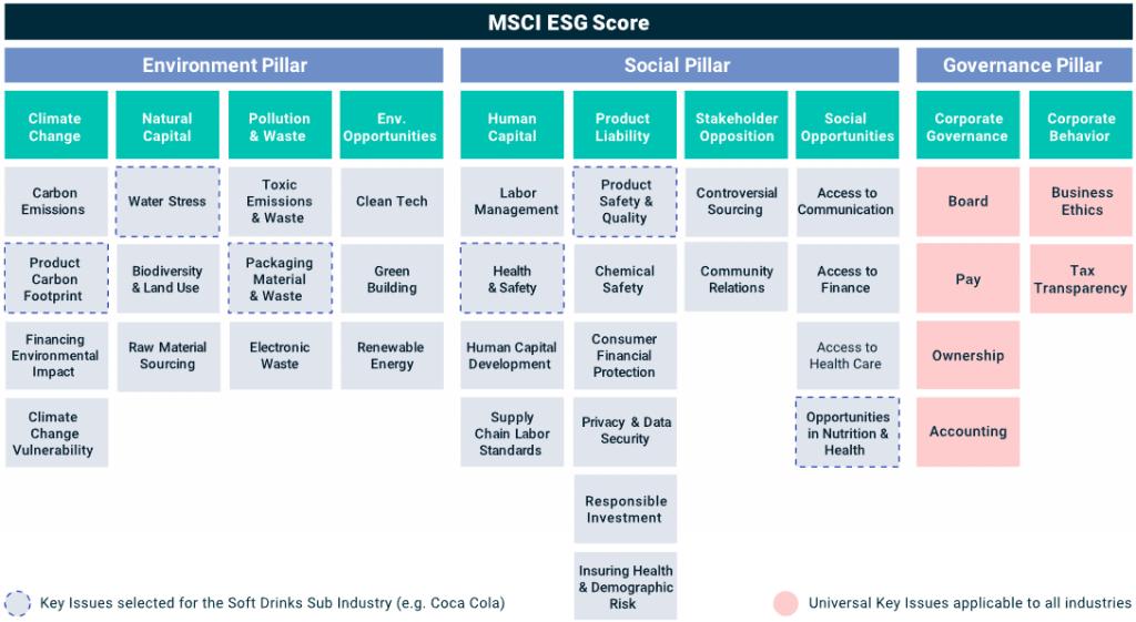 MSCI ESG Score Kriterien