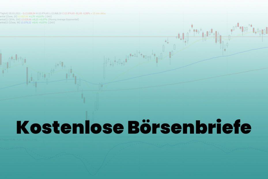 Kostenlose Börsenbriefe Übersicht