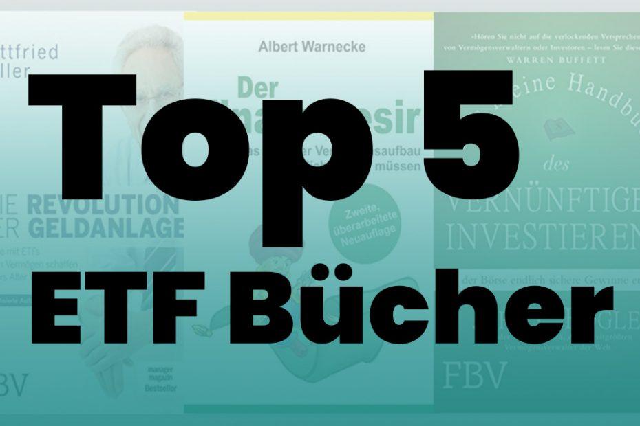 Top 5 ETF Bücher