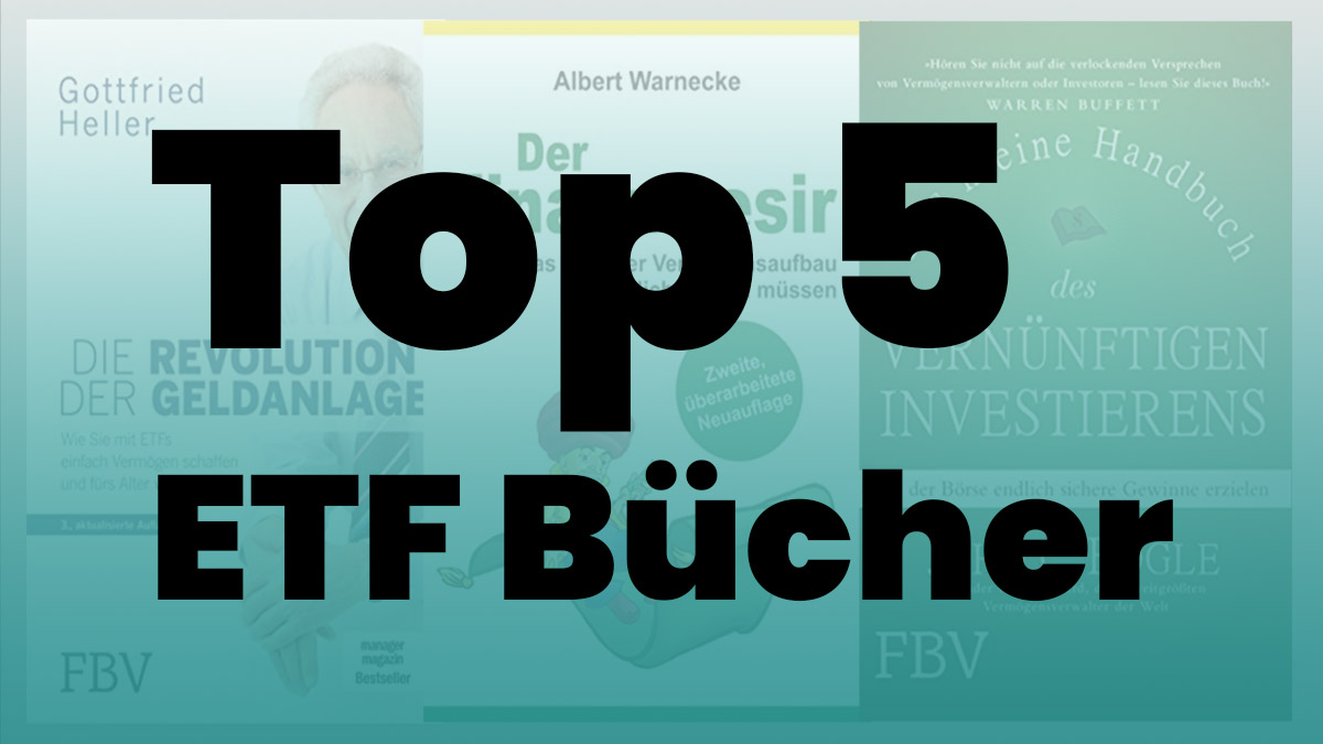 Top 5 ETF Bücher