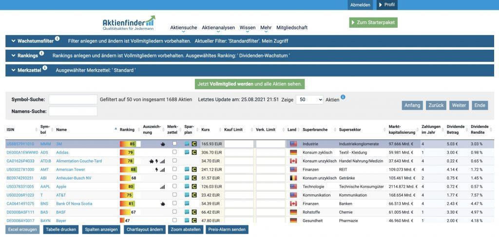 Aktienfinder.net